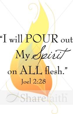 Holy Spirit Joel 2 28