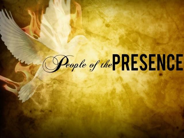 holy spirit people of Presence