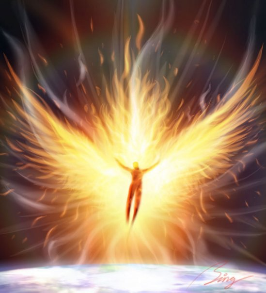 holy spirit Angel of Presence