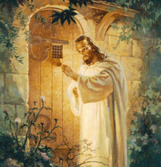 Christ Knocking at Heart's Door