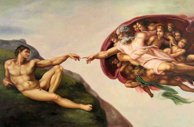 creation of adam pic