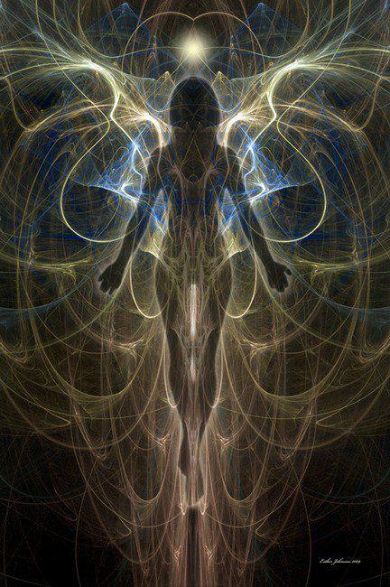 Cracked Light Woman Sculpture – Fubiz Media