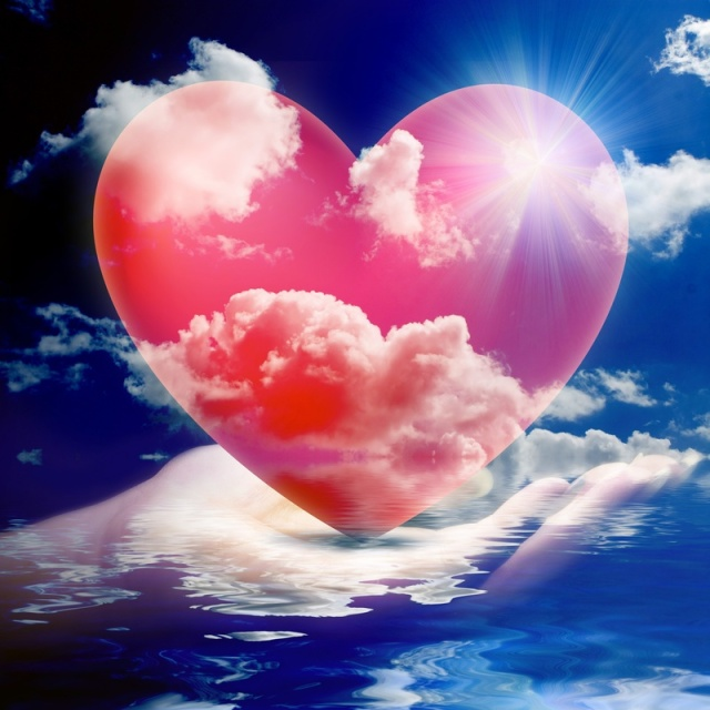 Heart in hand of God