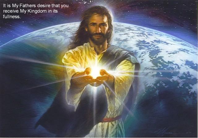 jesus:light:earth