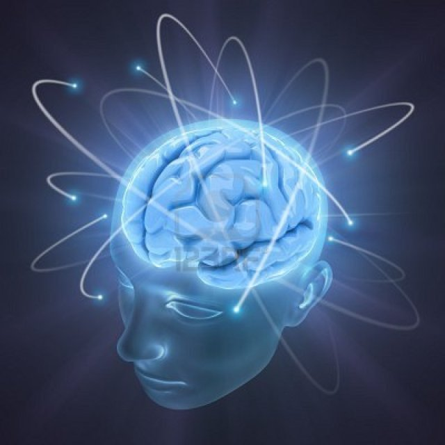 brain blue light concept-of-idea-the-power-of-mind