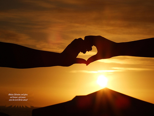 heart-connect, rise, shine, love