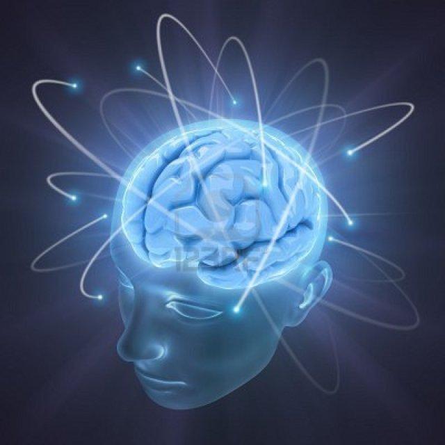 brain blue light concept-of-idea-the-power-of-mind