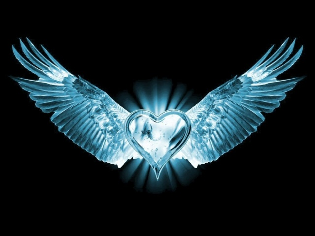 heart eagle wings