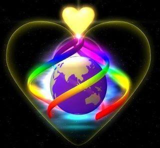 Image result for love heart earth image