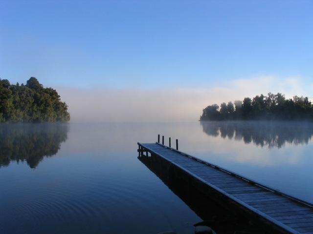 Still Lake in New Zealand