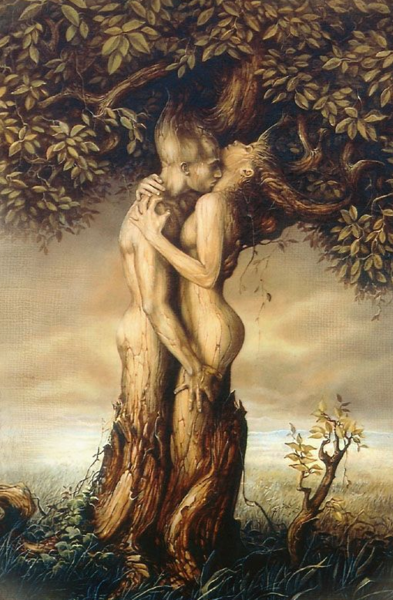 tree couple