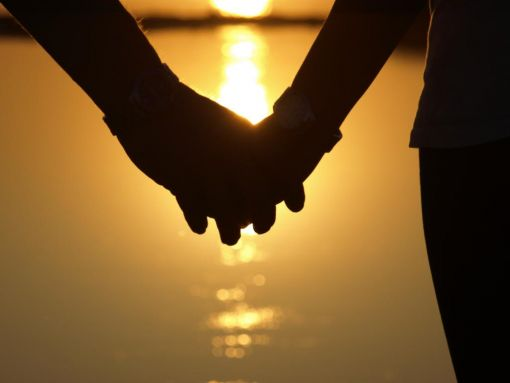hand in hand with the sun