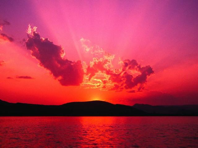 Sunset orange:magenta