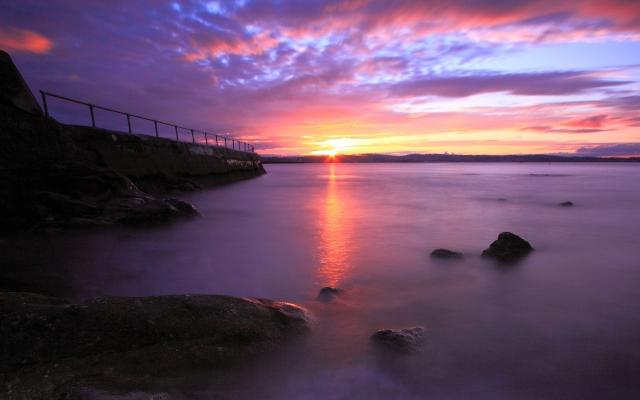 sunset-beautiful-beauty-bridge-clouds-colorful
