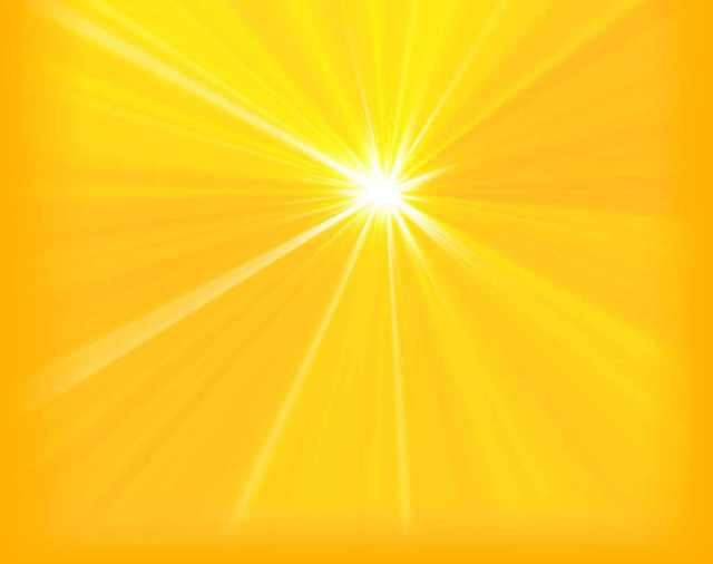 Pure Golden White Light of Christ, beyond rays or created light of sun, moon or stars