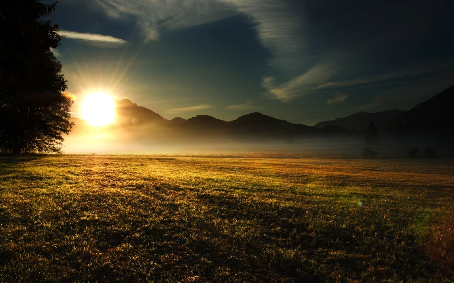 sunrise-dawn-carcabin