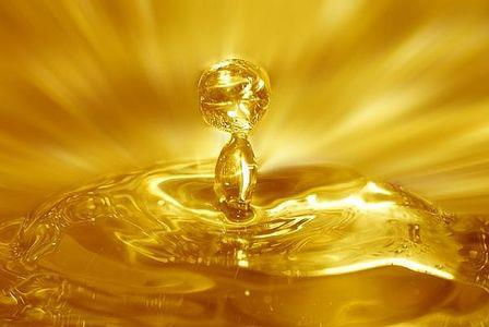 golden drop of Christ