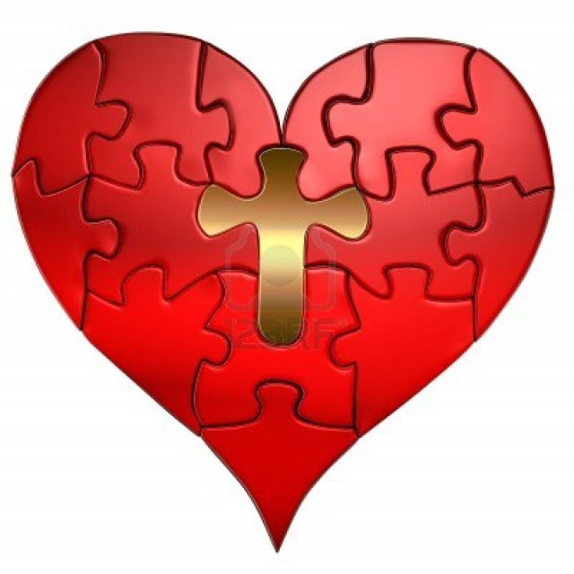 7426781-puzzle-of-a-valentine-heart-with-a-gold-cross-as-the-center-puzzle-piece