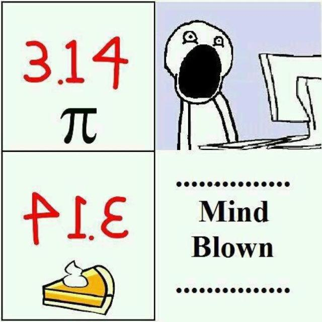 Happy 3/14! Happy Pi day! Happy Pi moment 3/14 at 1:59!