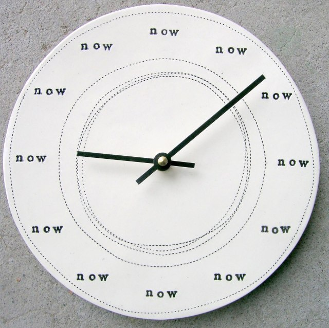 What time is it? It is the fullness of time NOW
