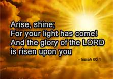 Glory Risen Upon You