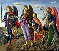 Francesco Botticini Archangels and Tobias