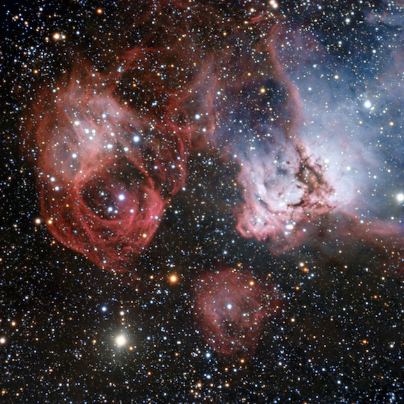 fiery drama of star birth