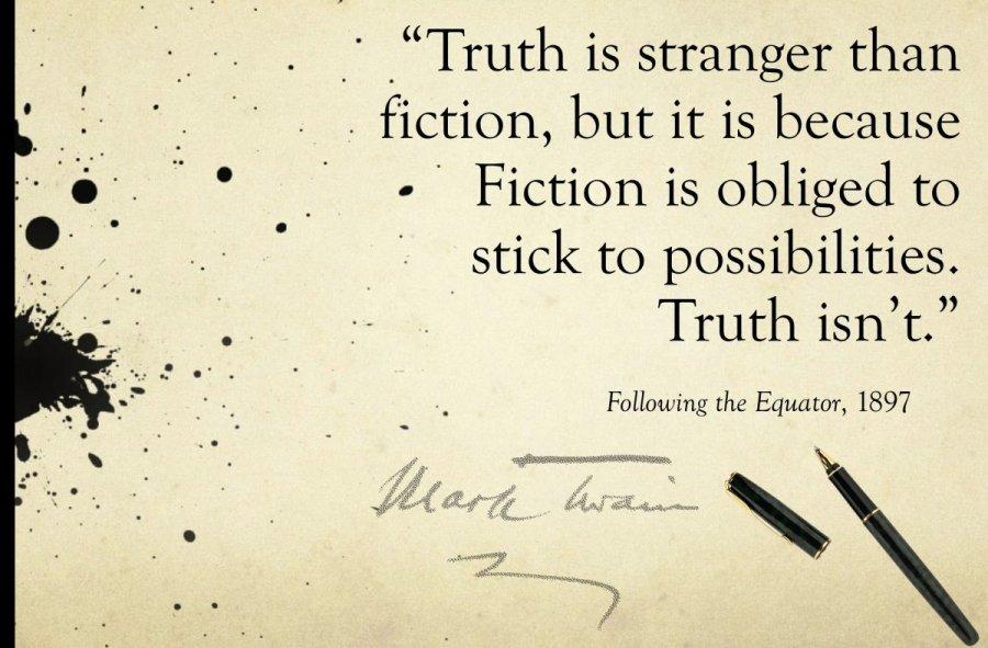 essay facts stranger than fiction