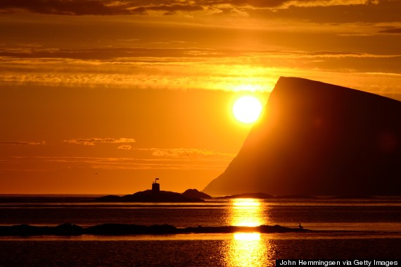 Norway Midnight Sun