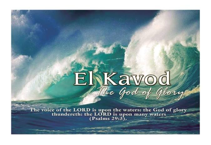 Live in God's Glory!!