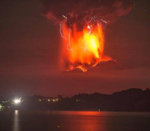 Volcanic Lighning