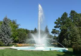 the two become one central Fountain of Life in Paradise!
